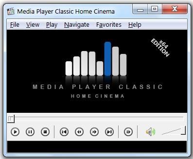 Проигрыватель видео Media Player Classic